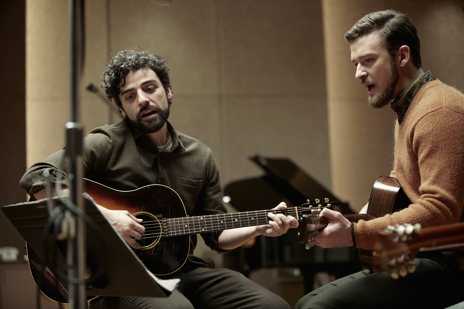Oscar Isaac and Justin Timberlake in Inside Llewyn Davis. (Photo: Alison Rosa/Long Strange Trip LLC)