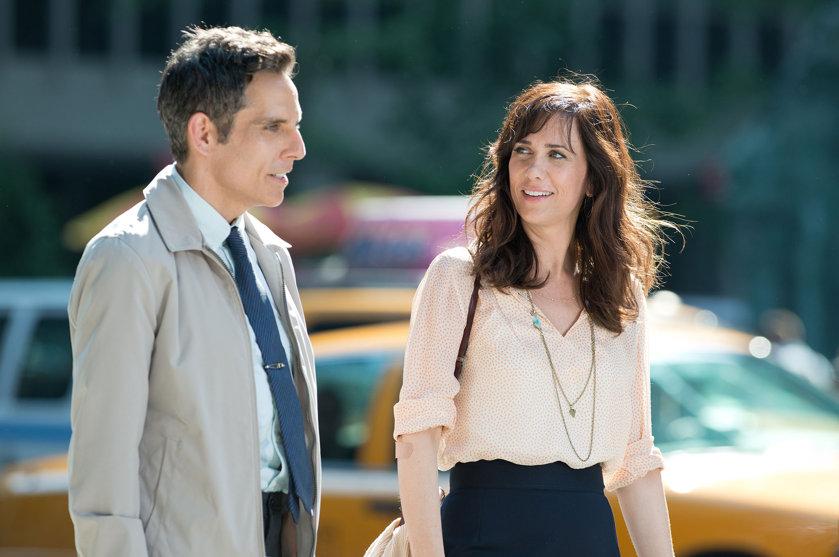 Ben Stiller and Kristen Wiig in The Secret Life of Walter Mitty. (Photo: Wilson Webb/20th Century Fox)