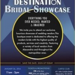 Destination Bridal Showcase (Photo: Alexandria Convention and Visitors Association)