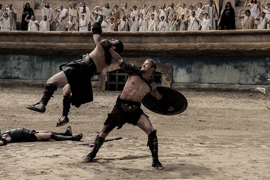 Hercules (Kellan Lutz) fights for his freedom after his step-father betrays him. (Photo: Summit Entertainment)