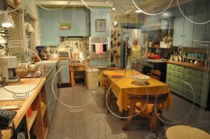 Julia Child's kitchen on display at the Museum of American History. (Photo: Museum of American History)