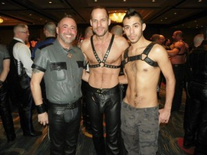 Participants at the 2012 Mid Atlantic Leather Weekend in the hotel lobby. (Photo: First Coast Leather Society)