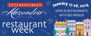 Arlington Restaurant Week is Jan. 17-26. (Graphic: Alexandria Convention & Visitors Association)