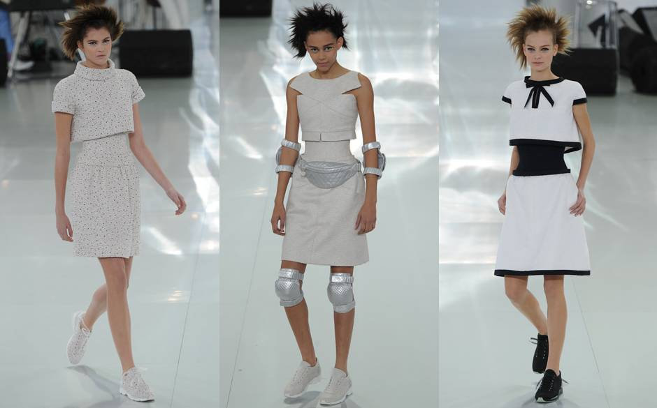 Chanel runway designs at Haute Couture Fashion Week (Photo: Stylelist.com)