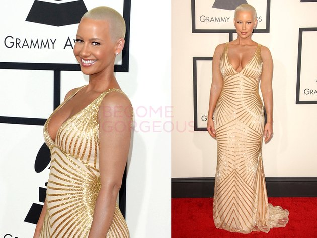 Amber Rose on the red carpet (Photo: BecomeGorgeous.com)