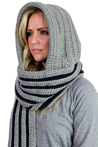 BMC Hooded Scarf, $41.65, available at Karmaloop. (Photo: Refinery29)