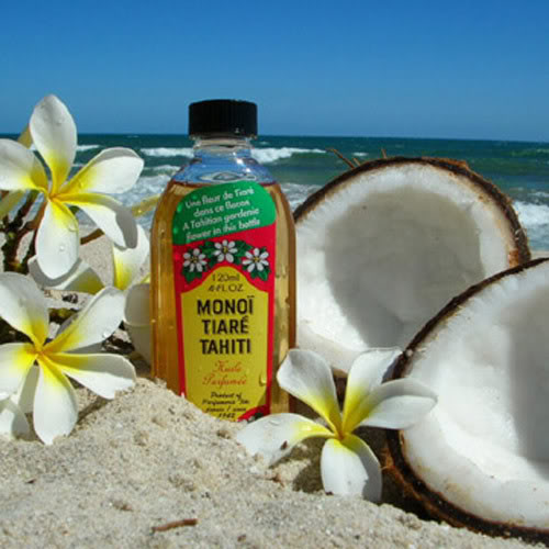 Monoi Oil from Polynesia (Photo: Mora I Naturals)