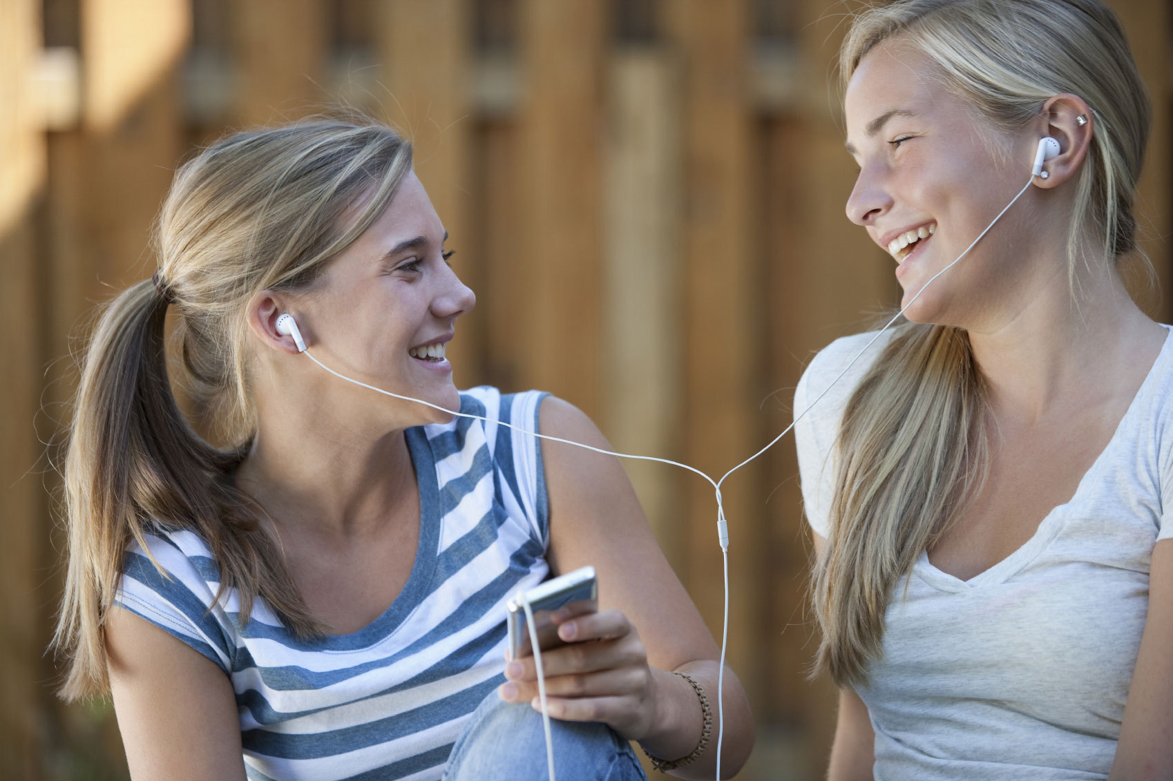 Portable listening devices aren't the only culprit for teen hearing loss. (Photo: Akron Children's Hospital)