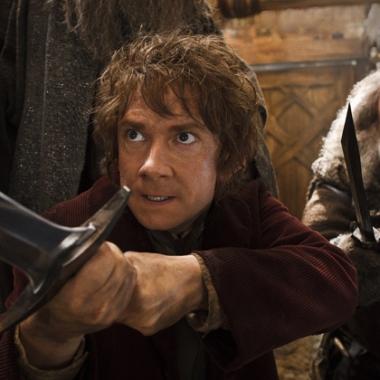 Martin Freeman as Bilbo Baggins in The Hobbit: The Desolation of Smaug. (Photo: Warner Bros.)