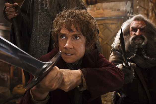 Martin Freeman as Bilbo Baggins in The Hobbit: The Desolation of Smaug. (Photo: Warner Bros.)