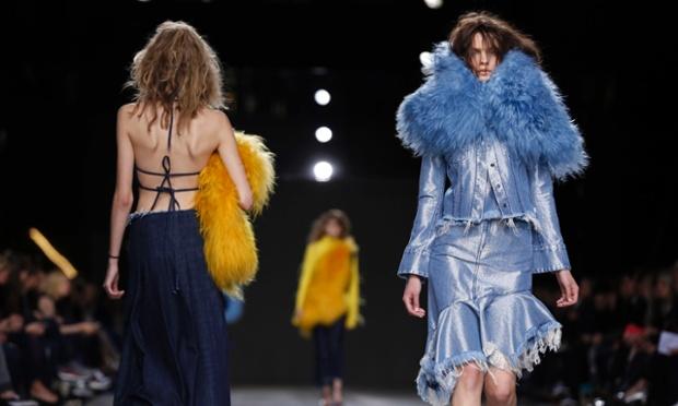 Marques'Almeida Catwalk - London Fashion Week 2014 (Photo: Jonathan Brady/PA Wire)