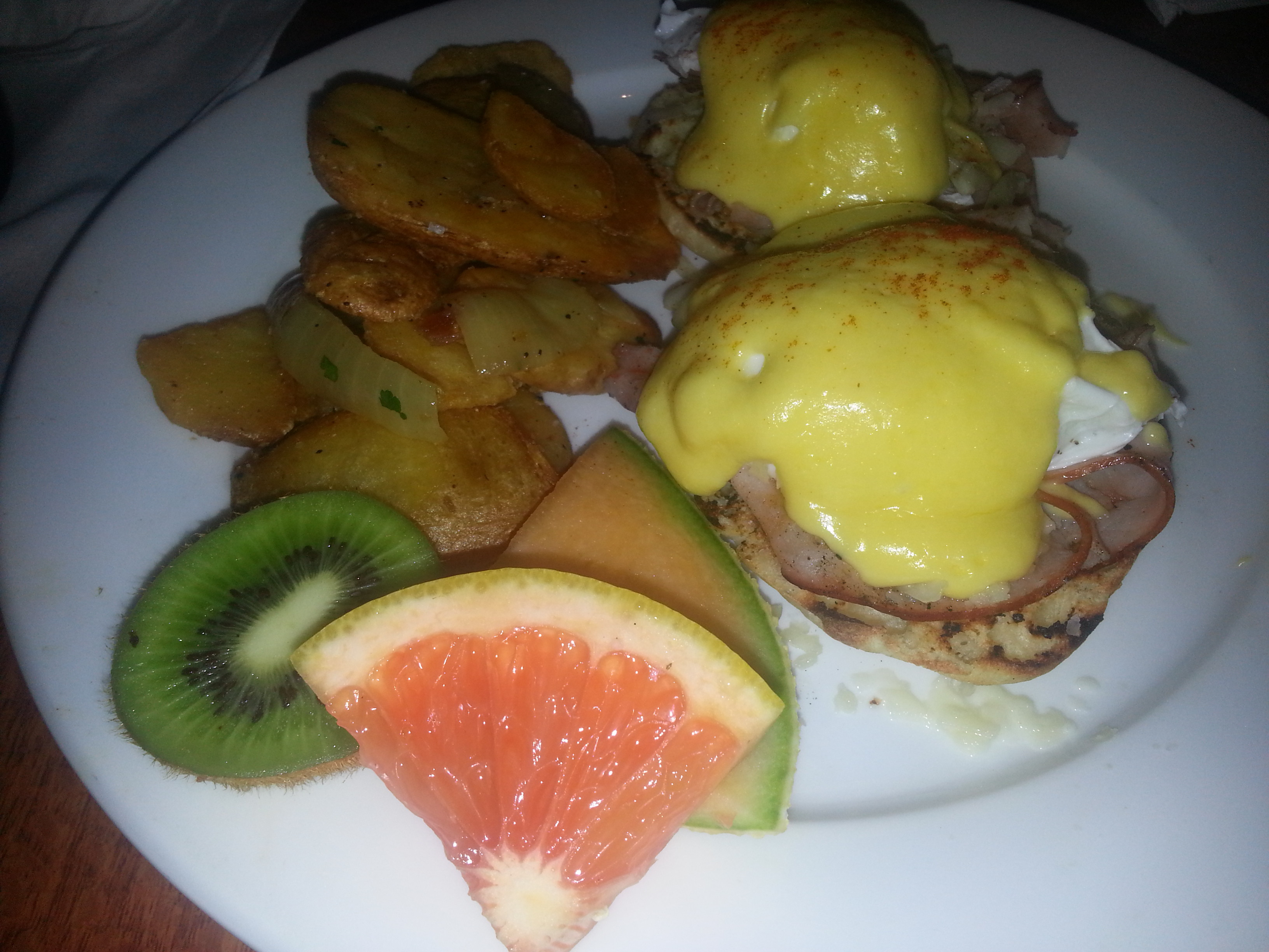 Eggspectation's classic Eggs Benedict (Photo: Mark Heckathorn/DC on Heels)