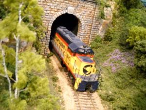 A model train (Photo: Greenburg's Train & Toy Show)
