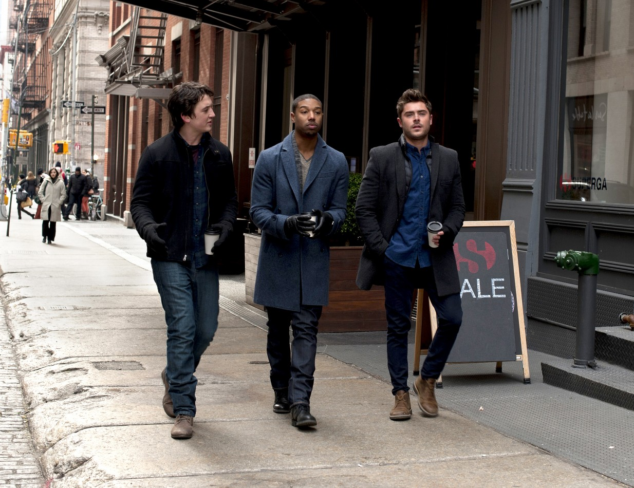 Miles Teller, Michael B. Jordan and Zac Efron (l to r) star in That Awkward Moment. (Photo: Focus Features)