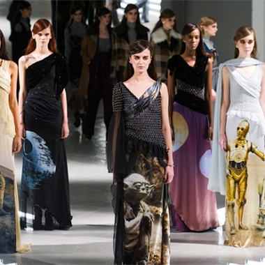 Rodarte designs at NYFW (Photo: TheFashionSpot.com)