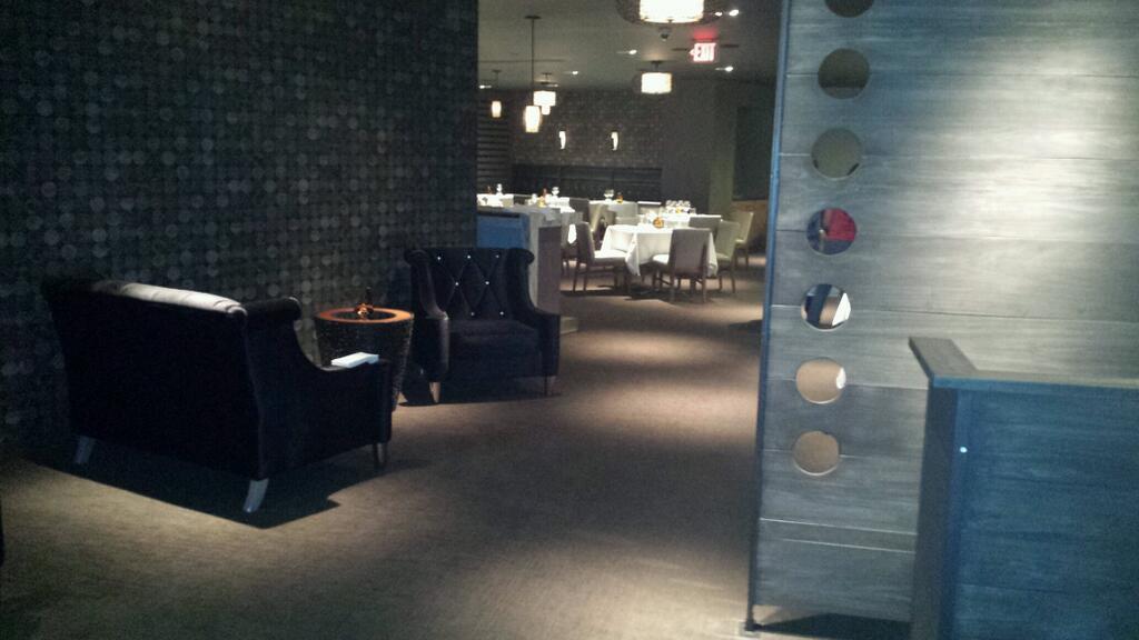 Brian Voltaggio's restaurant-in-a-restaurant Aggio is located inside Range in Friendship Heights. (Photo: Dane Nakamura/Twitter)