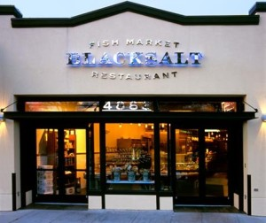 Black Salt Restaurant has reopened after a small fire. (Photo: Washington City Paper)