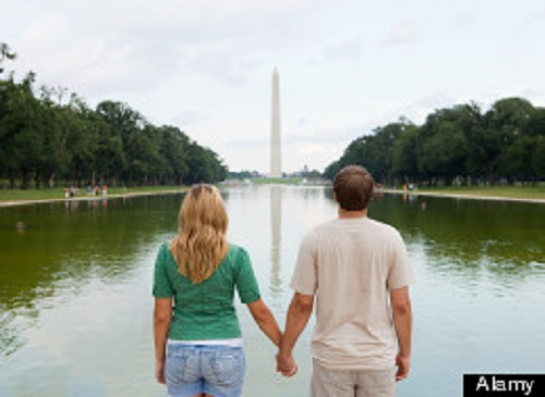 D.C. is one of the best places to be single. (Photo: Huffington Post)