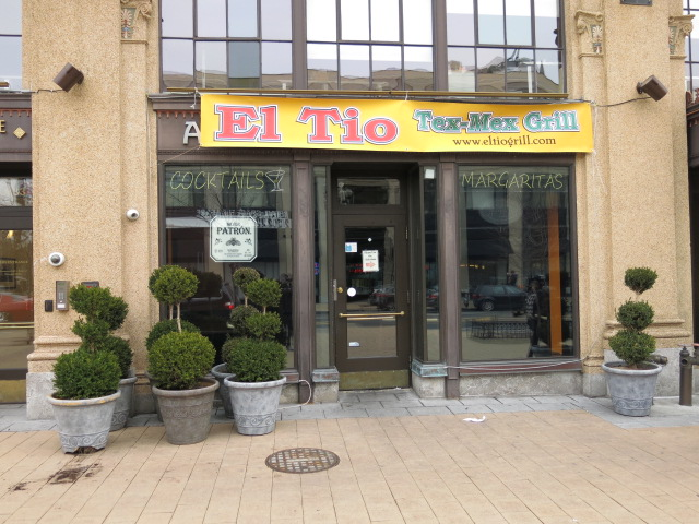 Alero Mexican restaurant in Columbia Heights is now El Tio Tex Mex Grill. (Photo: popville.com)