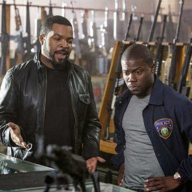 Ice Cube and Kevin Hart in Ride Along. (Photo: Universal Pictures)