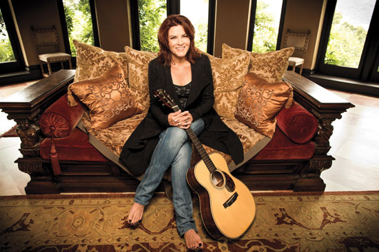 Roseanne Cash performs at GW's Lisner Auditorium. (Photo: Clay Patrick McBride)