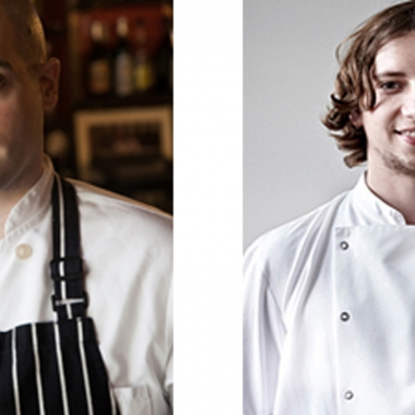 J.J. Basil (left) and Chris Wolff of the new 0º0' Restaurant. (Photos: 0º0' Restaurant)