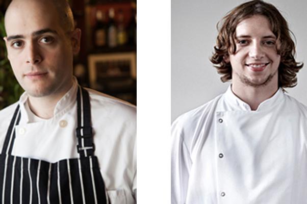 J.J. Basil (left) and Chris Wolff of the new 0º0' Restaurant. (Photos: 0º0' Restaurant)