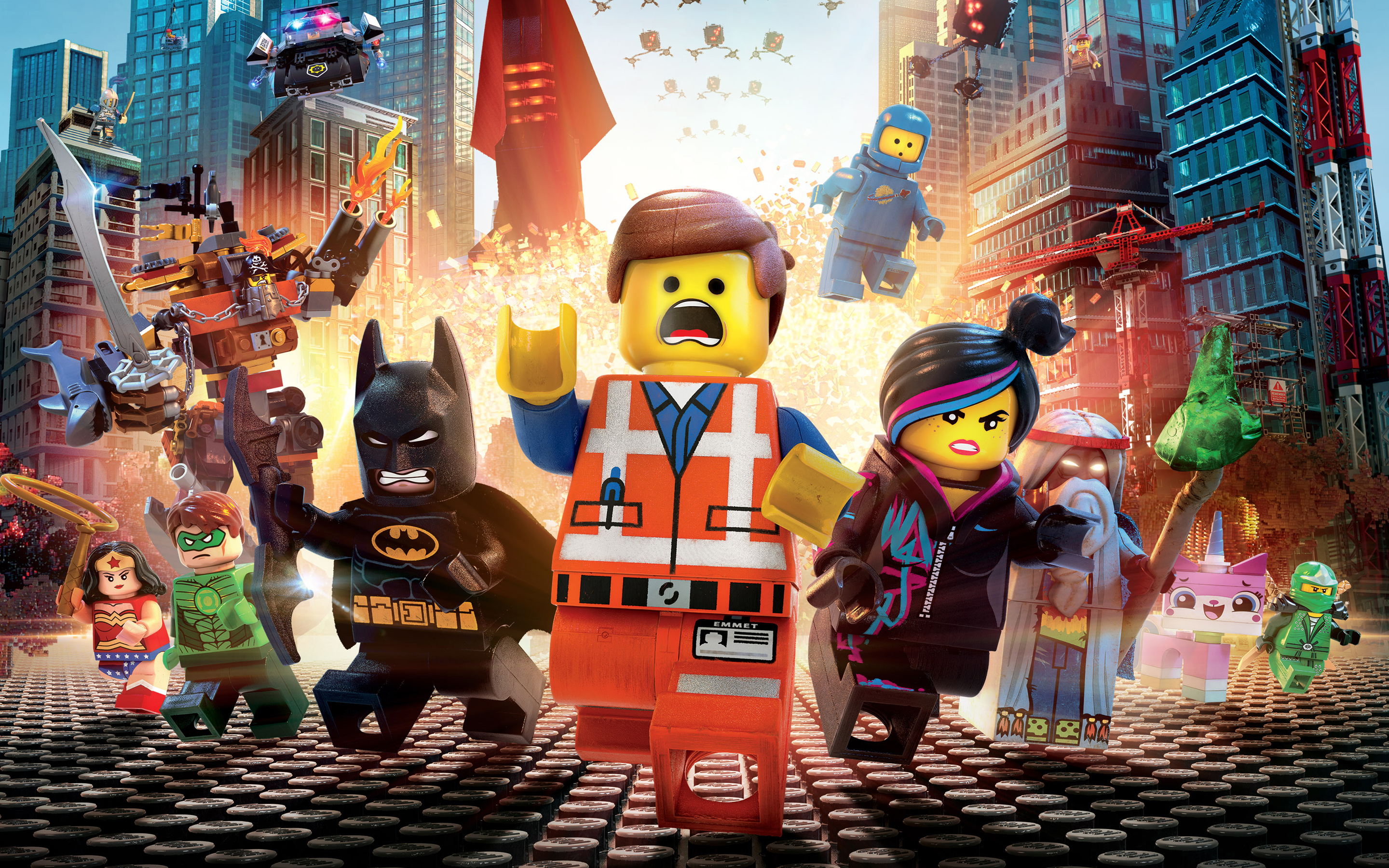 The Lego Movie debuted at number one last weekend. (Photo: Warner Bros. Studios)