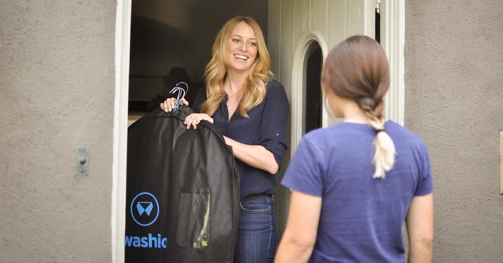 Washio will deliver and pick up dry cleaning with the click of an app on your iPhone. (Photo: Washio)