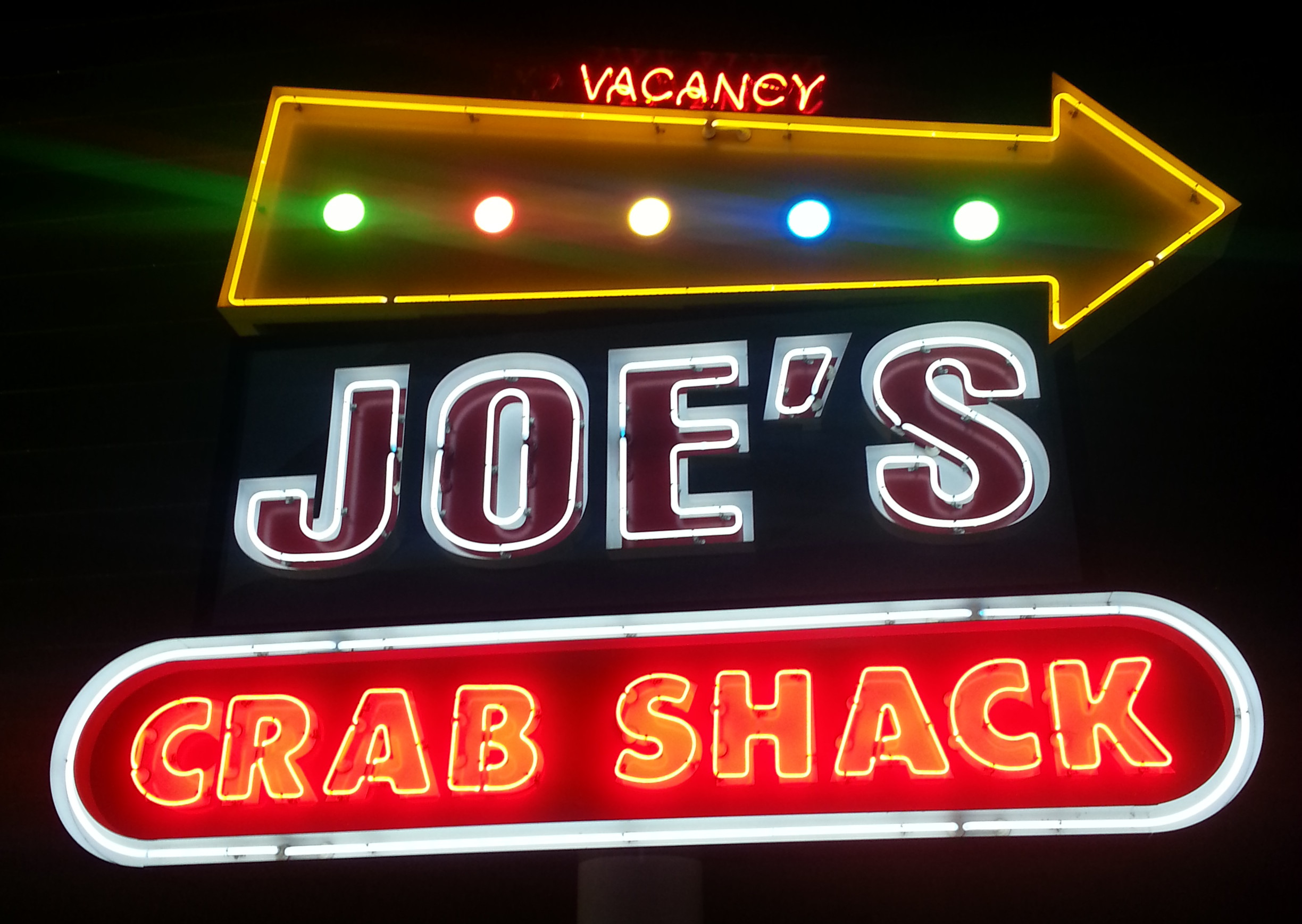 Joe's Crab Shack at Arundel Mills is now open. (Photo: Mark Heckathorn/DC on Heels)