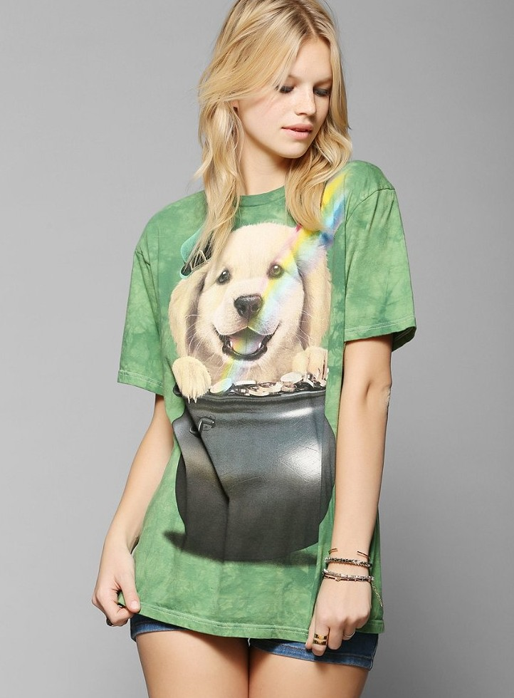 The Mountain St. Patty's Day Tee, $24 (Photo: Urban Outfitters)