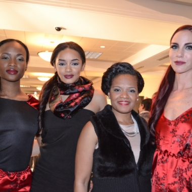 Le'la'Mone designs at DC Fashion Week's Emerging Designers Showcase (Photo: TheDMVNetwork.com)