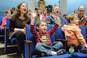 Family Day at the Corcoran Gallery of Art. (Photo: Corcoran Gallery of Art)