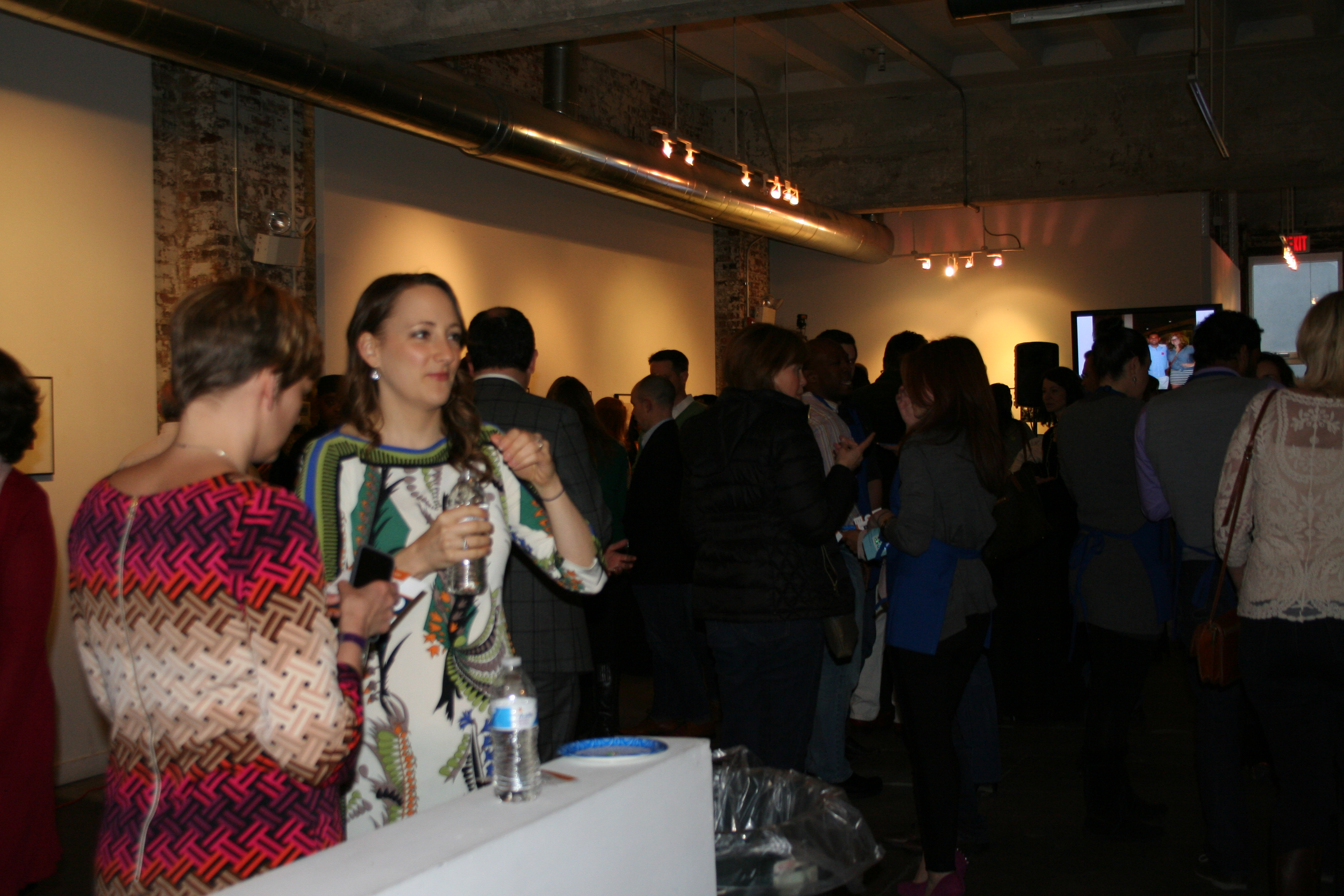 About 200 guests attended Chris4Life's Eat4Life event at Longview Gallery to raise funds and provide healthy meal options. (Photo: Mark Heckathorn/DC on Heels)