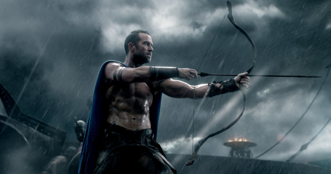 Sullivan Stapleton as Thermistokles in 300: Rise of an Empire (Photo: Warner Bros. Pictures)