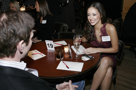 Professionals in the City is hosting a St. Patrick's Day Speed Dating Party this weekend. (Photo: SpeedFriending Events)