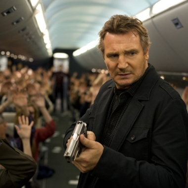 Liam Neeson stars in Non-Stop. (Photo: Universal Pictures)