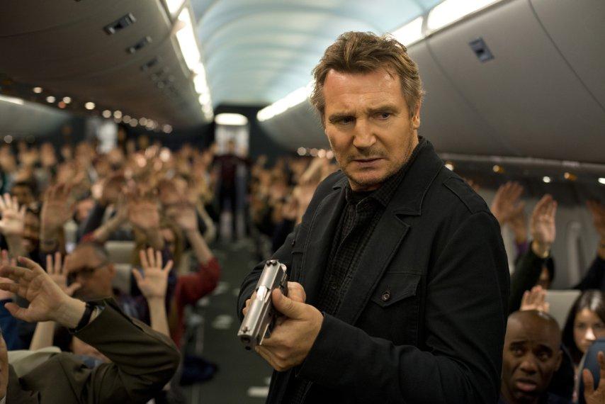 Liam Neeson stars in Non-Stop. (Photo: Universal Pictures)