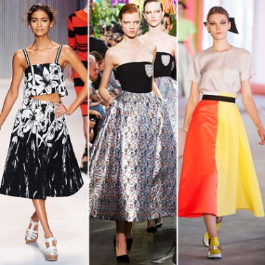 Full Skirts on the Runway for a little inspiration. (Photo: InStyle)