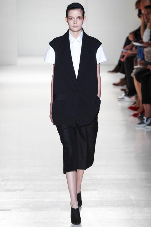 Victoria Beckham blazer vest (Photo: Glamour)