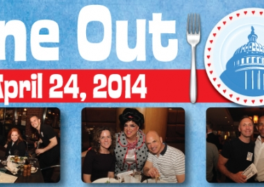 Food & Friends' Dining Out for Life is this Thursday. (Graphic: Food & Friends)