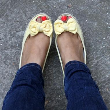 It's the perfect time for peep toes! (Photo: Kathy Ferguson Litton/Flourish)