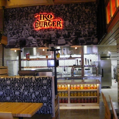 TKO Burger will open Apr. 17 in Rhode Island Row. (Photo: Maura Judkis/Washington Post)