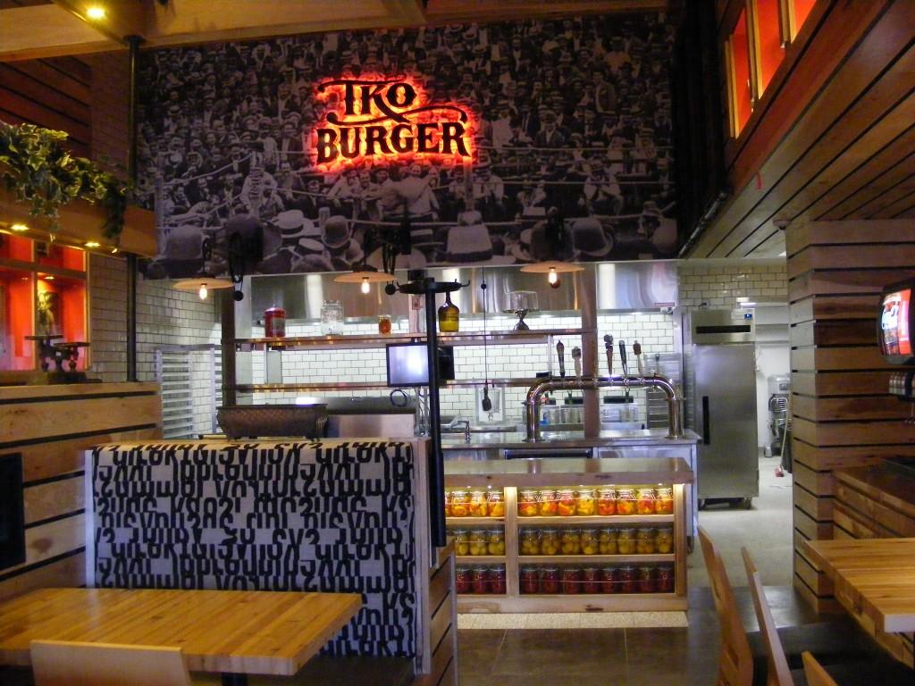TKO Burger will open Apr. 17 in Rhode Island Row. (Photo: Maura Judkis/Washington Post)