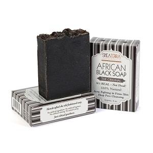 Shea Terra Authentic African Black Soap (Photo: Shea Terra)