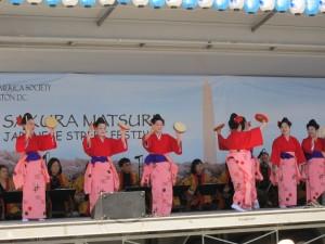 Performers at the Sakura Matsuri Japanese street festival. (Photo: bentobox.com)