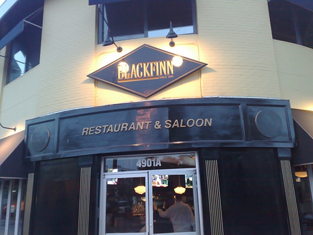 BlackFinn's former Bethesda location suddently closed in March. (Photo: Bethesda Magazine)
