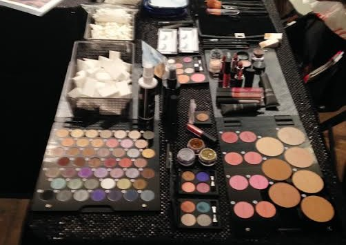 The Motives by Lauren Ridinger display at Beauty Night Out. (Photo: Lia Phipps/DC on Heels)