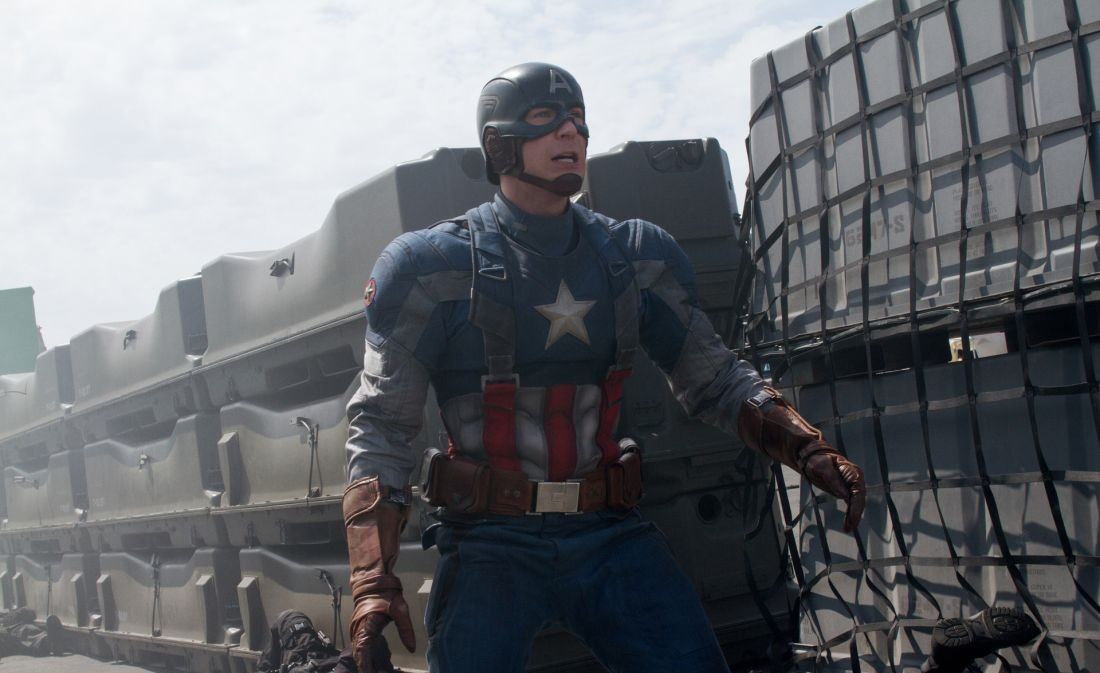 Chris Evans as Captain America in Captain America: The Winter Soldier. (Photo: Disney Entertainment)