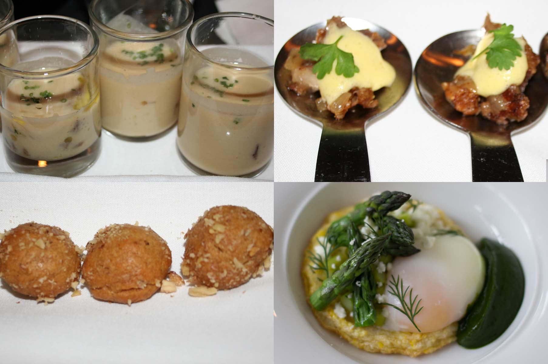 Also on the menu are mayiritsa, lobster avgolemono, an asparagus omelet and loukamades. (Photos: Mark Heckathorn/DC on Heels)